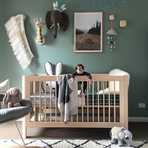 Bebek Odası İ 231 In Duvar Dekorasyonu Fikirleri Bebek Odası