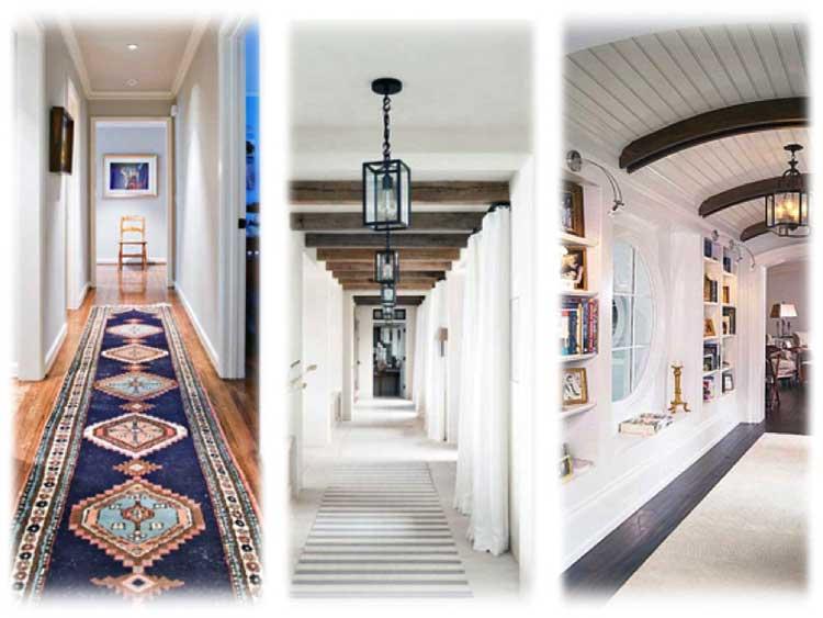 Ev Koridor Boya Renkleri Dar Modern Koridor Dekorasyon Fikirleri